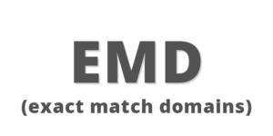 Dominios EMD o genéricos